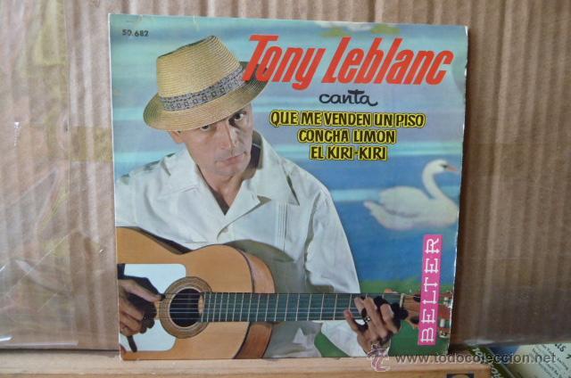 TONY LEBRANC-QUE ME VENDENUN PISO-Y 2 MAS (Música - Discos de Vinilo - EPs - Bandas Sonoras y Actores)