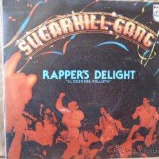 Discos de vinilo: SUGARHILL GANG -RAPPER,S DELIGHT-. Lote 52996331