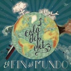 Discos de vinilo: LP COLA JET SET EL FIN DEL MUNDO VINILO LOS FRESONES REBELDES . Lote 53001895