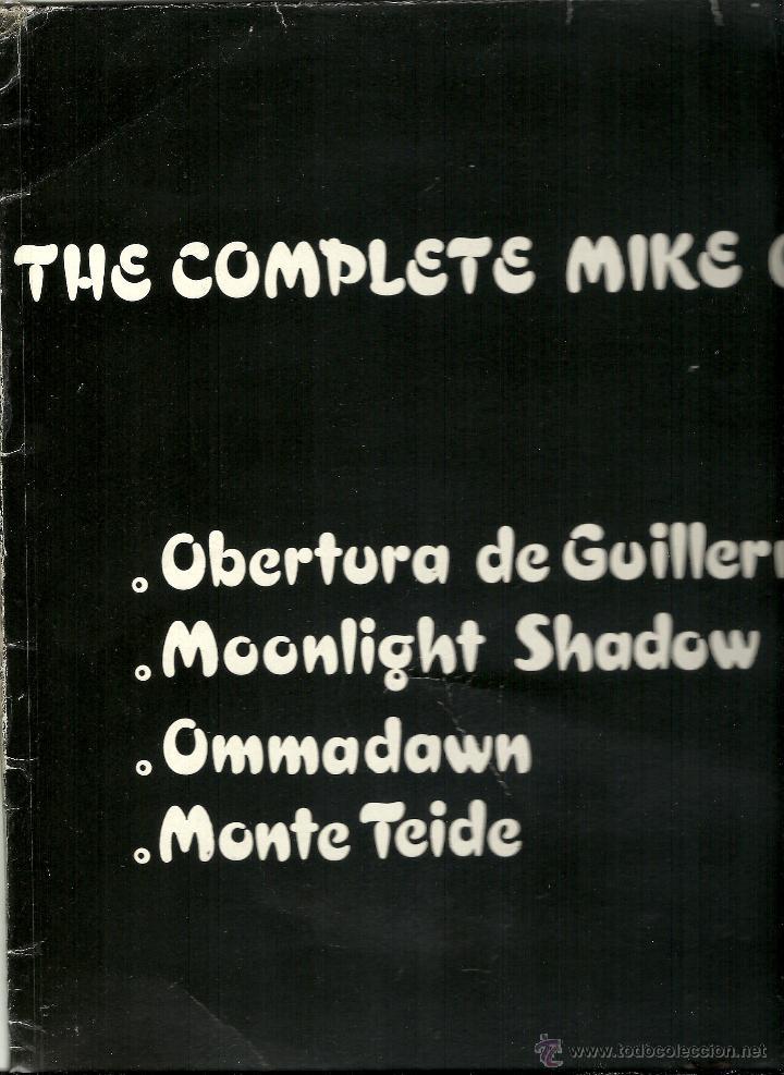 Discos de vinilo: MIKE OLDFIELD. The complete .... (vinilo maxi promocional 1985) - Foto 3 - 53004637