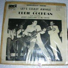Discos de vinilo: EDDIE COCHRAN - LET'S COAST AWHILE - EP ROCK STAR 1979. Lote 53005800