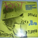 Discos de vinilo: JACK MEATBEAT AND THE UNDERGROUND SOCIETY / LA SECTA – RIOT EP MUNSTER 1997. Lote 53005872