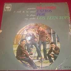 Discos de vinilo: GRANDES EXITOS POR LOS TEEN TOPS - CBS - 1963. Lote 53008522