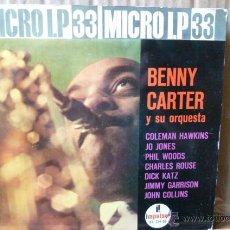 Discos de vinilo: BENNY CARTER Y SU ORQUESTA MICROLP A 33RPM. Lote 53008933