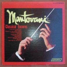 Discos de vinilo: MANTOVANI.CLASSICAL ENCORES.-LP DECCA-LONDON ( PS 269 ).PRINTED IN U.S.A.. Lote 53012225