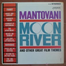 Discos de vinilo: MANTOVANI.MOON RIVER AND OTHER GREAT FILM THEMES.-LP DECCA-LONDON ( PS 249 ).PRINTED IN U.S.A.. Lote 53012280