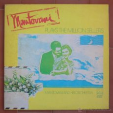 Discos de vinilo: MANTOVANI.-PLAY THE MILLION SELLERS.2 LPS DECCA-LONDON ( BP 44302/3 ).AÑO 1976.PRINTED IN U.S.A.. Lote 53012327