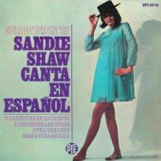 Discos de vinilo: EUROVISION `67 - SANDIE SHAW CANTA EN ESPAÑOL - EP. Lote 53015959