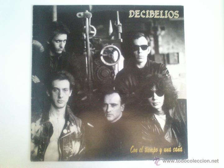 DECIBELIOS - CON EL TIEMPO Y UNA CAÑA - INSERTO INCLUIDO (Música - Discos - LP Vinilo - Punk - Hard Core)