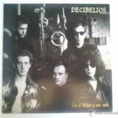 Discos de vinilo: DECIBELIOS - CON EL TIEMPO Y UNA CAÑA - INSERTO INCLUIDO. Lote 53016708