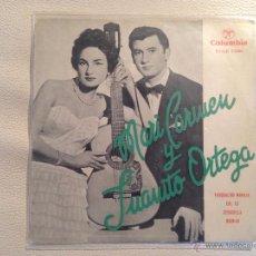 Discos de vinilo: MARY CARMEN Y JUANITO ORTEGA - BUENISIMO DISCO DE PROTO YEYE . Lote 53017414