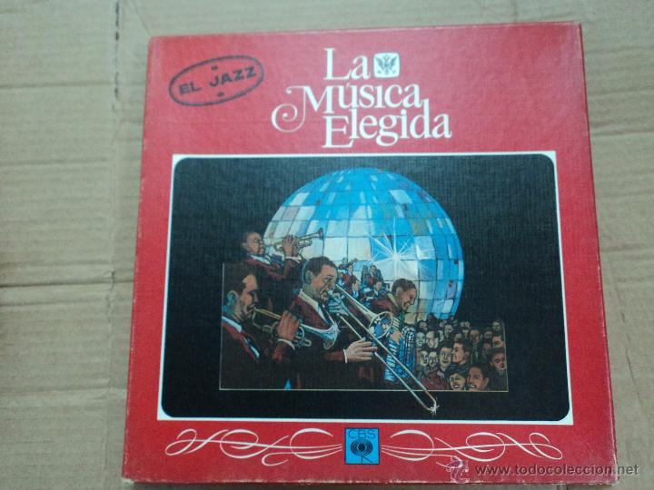 LA MÚSICA ELEGIDA EL ROCK- 4 VINILOS + REVISTA (Música - Discos - LP Vinilo - Jazz, Jazz-Rock, Blues y R&B)