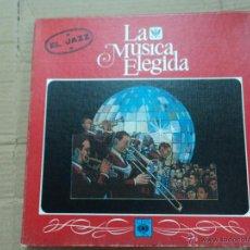 Discos de vinilo: LA MÚSICA ELEGIDA EL ROCK- 4 VINILOS + REVISTA . Lote 53017446