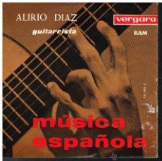 Discos de vinilo: ALIRIO DÍAZ - MÚSICA ESPAÑOLA - EP 1963. Lote 53019825