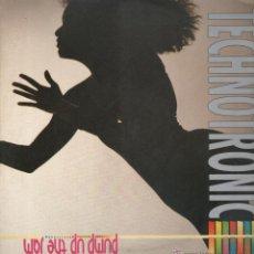 Discos de vinilo: PUMP UP HTE JAM TECHNOTRONIC LP. Lote 53021194