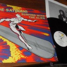Discos de vinilo: JOE SATRIANI LP SURFING WITH THE ALIEN MADE IN ENGLAND. UK. 1987. Lote 53022296