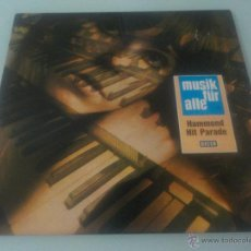 Discos de vinilo: NILS TIBOR : HAMMOND HIT PARADE .- LP-DECCA. Lote 53025471