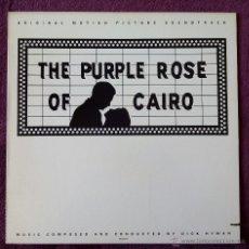 Dischi in vinile: BSO, THE PURPLE ROSE OF CAIRO (MCA) LP USA - DICK HYMAN LA ROSA PURPURA DEL CAIRO WOODY ALLEN. Lote 53026088