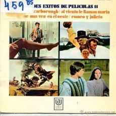 Discos de vinilo: 4 GRANDES EXITOS DE PELICULAS VOL 11 / LA LEYENDA DE LA CIUDAD SIN NOMBRE + 3 (EP 1970). Lote 53031949