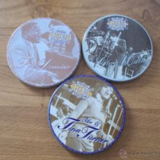 Discos de vinilo: ORIGINAL LEGENDS TINA TURNER. GLENN MILLER. FATS DOMINO. Lote 53042335