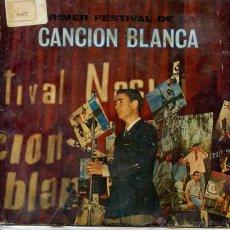 Dischi in vinile: I FESTIVAL DE LA CANCION BLANCA / UN CHICO DE LA NUEVA OLA + 3 (VALENCIA 1967). Lote 53044073