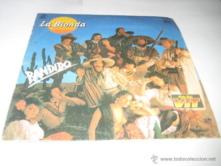 LA BIONDA - BANDIDO (Música - Discos - Singles Vinilo - Pop - Rock - Extranjero de los 70)