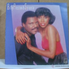 Discos de vinilo: BILLY PRESTON AND SYRETTA - IDEM - MOTOWN-BELTER 2-47177 - 1981. Lote 53046678