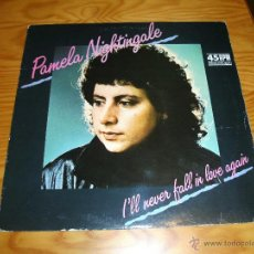 Discos de vinilo: PAMELA NIGHTINGALE, I'LL NEVER FALL IN LOVE AGAIN. MAXI SINGLE...B. Lote 207103108