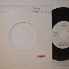 Discos de vinilo: TOTEM - SINGLE - PUEDE SER UN LIO - 1990 - PROMO - ESPECTACULAR - POP ROCK. Lote 53049927