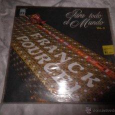 Discos de vinilo: FRANK POURCEL, LP DOBLE VINILO - PARA TODO EL MUNDO VOL. II -. EMI-ODEON, ESPAÑA AÑO 1979. Lote 53052740