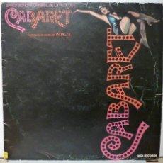 Discos de vinilo: CABARET - BANDA SONOR ORIGINAL CON LIZZA MINELLI. Lote 53055210