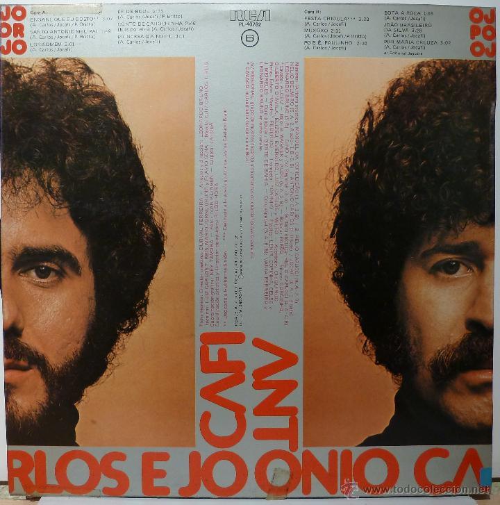 Discos de vinilo: ANTONIO CARLOS JOCAFI - OJO POR OJO - Foto 2 - 53055222