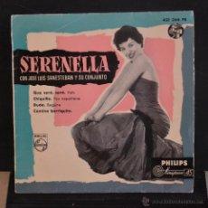 Discos de vinilo: SERENELLA. CON JOSE LUIS SANESTEBAN Y SU CONJUNTO. QUE SERA, SERA + 3. PHILIPS. LITERACOMIC.. Lote 53055567