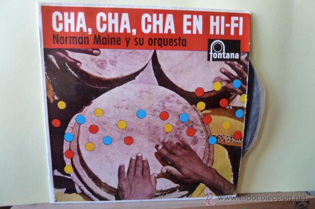CHA,CHA,CHA,EN HI-FI NORMAN MAINE Y SU ORQUESTA- (Música - Discos de Vinilo - EPs - Orquestas)