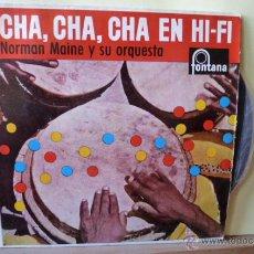Discos de vinilo: CHA,CHA,CHA,EN HI-FI NORMAN MAINE Y SU ORQUESTA-. Lote 53055884
