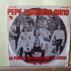 Discos de vinilo: PEPE LIENHARD BAND -EL PASTEL DE MANZANA DE LINDA -DON,T STOP THE SHOW-. Lote 53056042