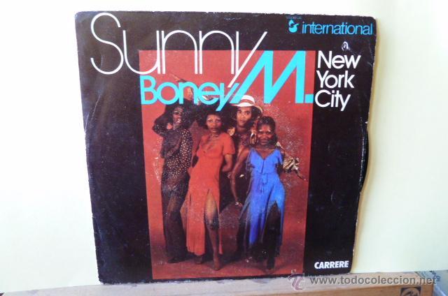 BONEY M-SUNNY -NEW YORK CITY-EDITADO EN FRANCIA- (Música - Discos - Singles Vinilo - Funk, Soul y Black Music)