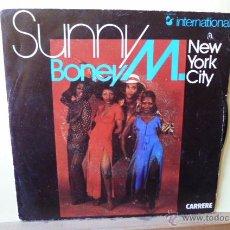 Discos de vinilo: BONEY M-SUNNY -NEW YORK CITY-EDITADO EN FRANCIA-. Lote 53056107