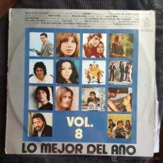 LO MEJOR DEL AÑO VOLUMEN 8 - HISPAVOX