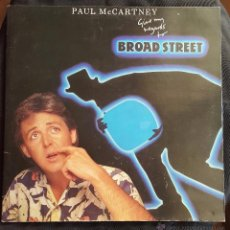 Discos de vinilo: PAUL MCCARTNEY - BROAD STREET - 1984 - DOBLE PORTADA. Lote 53058708