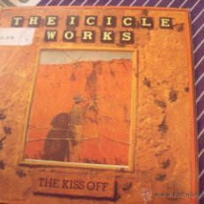 Discos de vinilo: ICICLE WORKS - THE KISS OFF / HIGH TIME. Lote 53058988