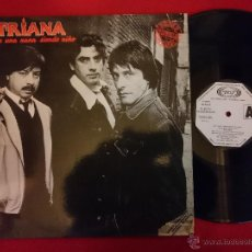 Discos de vinilo: TRIANA - DE UNA NANA SIENDO NIÑO - MAXI 1983 MEGA RARE PROMO SPAIN (EX-/EX-) N. Lote 53062782