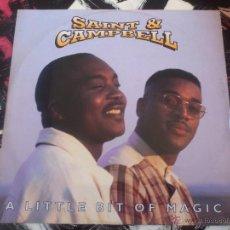 Discos de vinilo: SAINT & CAMPBELL - A LITTLE BIT OF MAGIC - MAXI - VINILO - COPASETIC - 1995. Lote 53062816