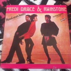 Discos de vinilo: FREDI GRACE & RHINSTONE - HEAD OVER HEELS - LA CABEZA SOBRE LOS HOMBROS - MAXI - PROMO - RCA - 1983. Lote 53063000