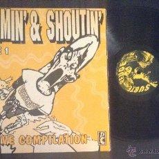 Discos de vinilo: DISCO LP VINILO SCREAMING' & SHOUTIN' SUBTERFUGE RECORDS PUNK ROCK. Lote 53063381