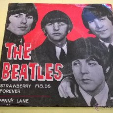 Discos de vinilo: THE BEATLES.STRAWBERRY FIELDS FOREVER.SINGLE.ESPAÑA 1967.ODEON.. Lote 53064478