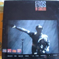 Discos de vinilo: LP - EROS RAMAZZOTTI - IN CONCERT (DOBLE DISCO, SPAIN, DDD RECORDS 1991). Lote 262180575