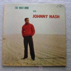 Discos de vinilo: JOHNNY NASH - THE QUIET HOUR WITH 1959 !! RARA 1ª EDIC ORG USA ABC PARAMOUNT, TODO EXC. Lote 53065795