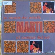 Discos de vinilo: LP - MARTI - LO CAMIN DEL SOLELH (PROMOCIONAL ESPAÑOL, GUIMBARDA 1979). Lote 53067473