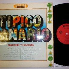 Discos de vinilo: TIPICO CANARIO 1976 LP. Lote 53070982